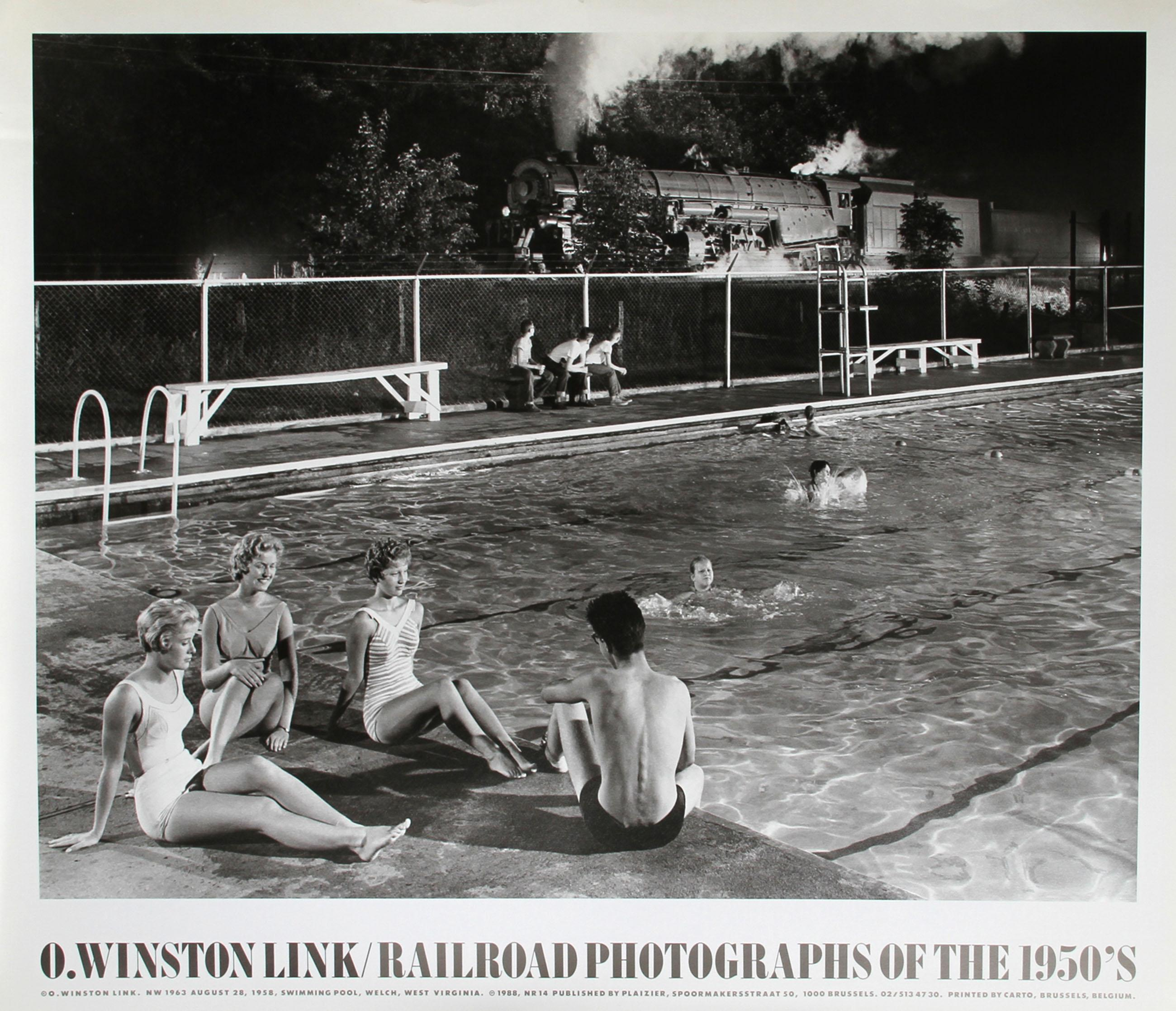 O. Winston Link, Railroad Photographs of the 1950's, Poster