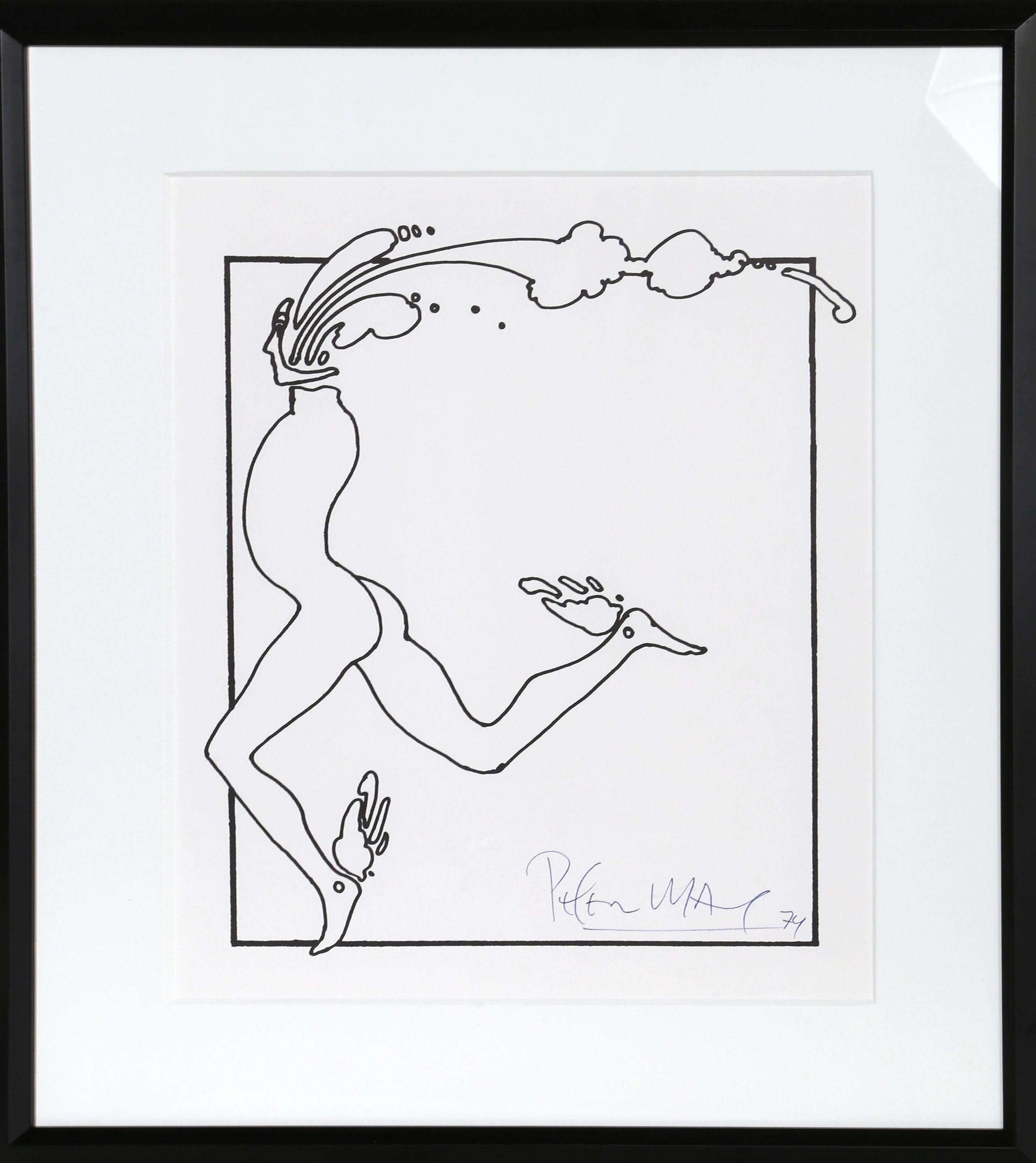 Peter Max, Runner, Serigraph