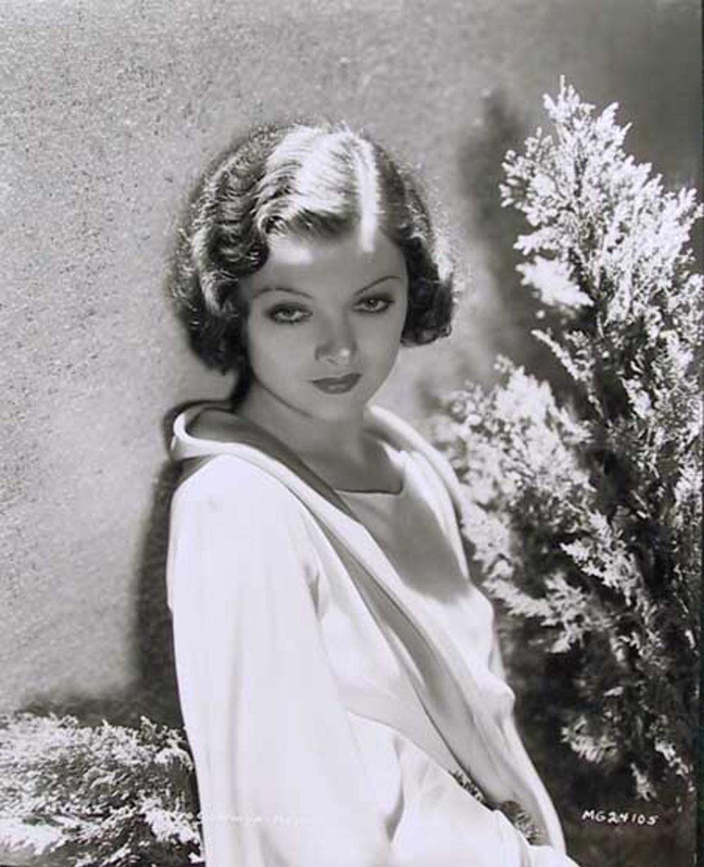 George Hurrell, Myrna Loy, Gelatin Silver Print Photograph