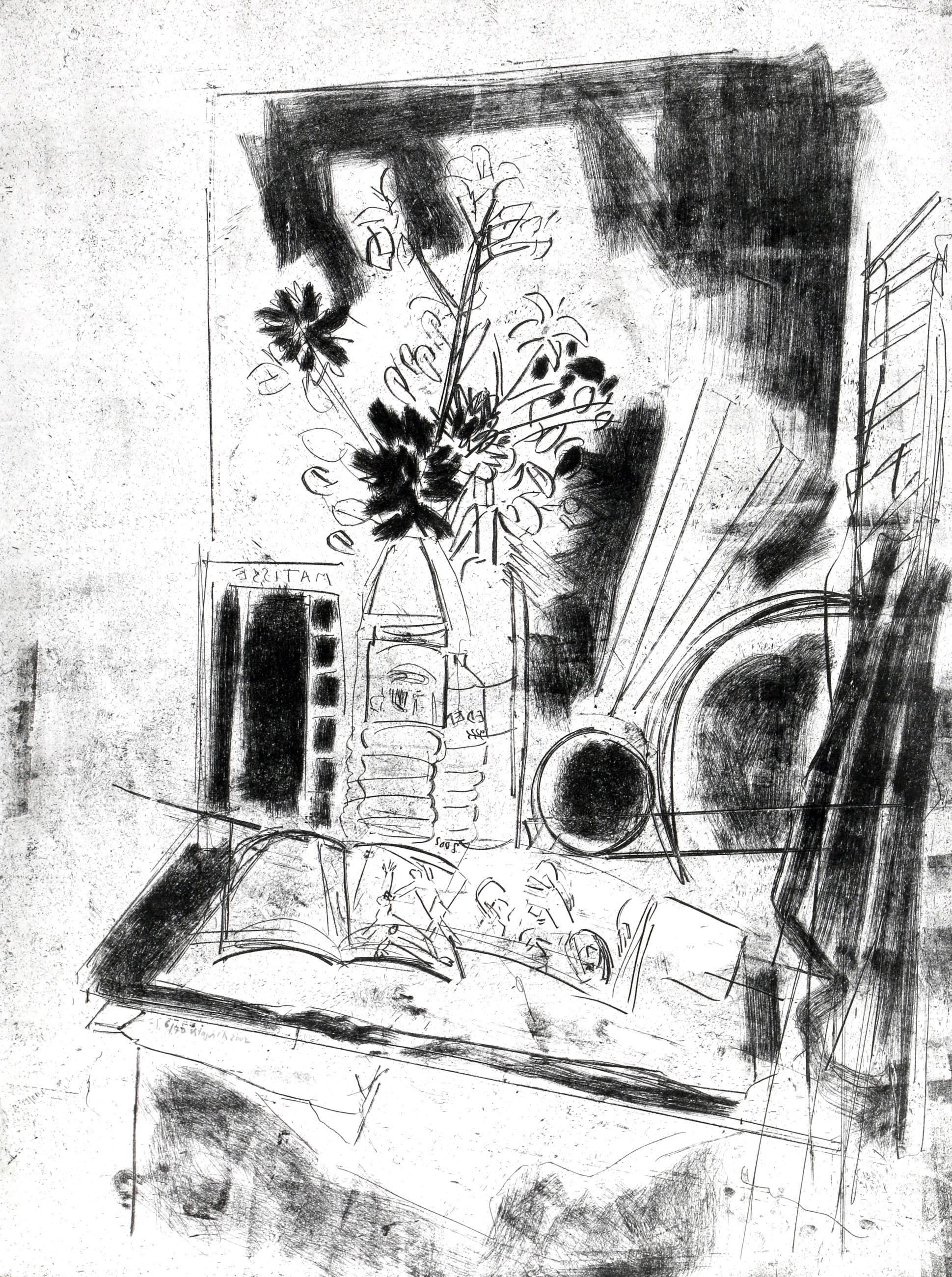 Liliane Klapisch, Spring, Soft Ground Etching