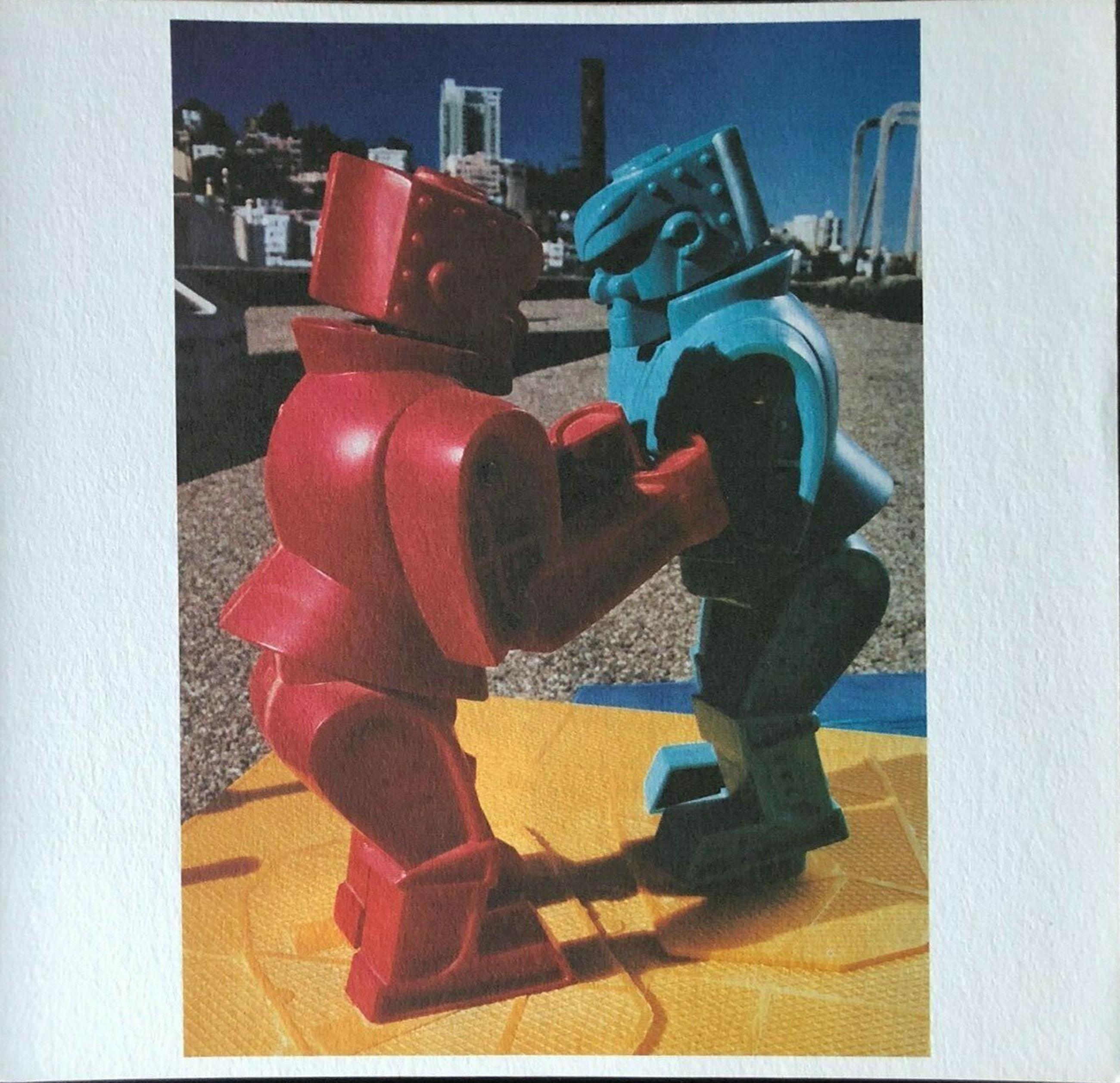 Yura Adams, Rock 'em Sock 'em Robots, Offset Lithograph