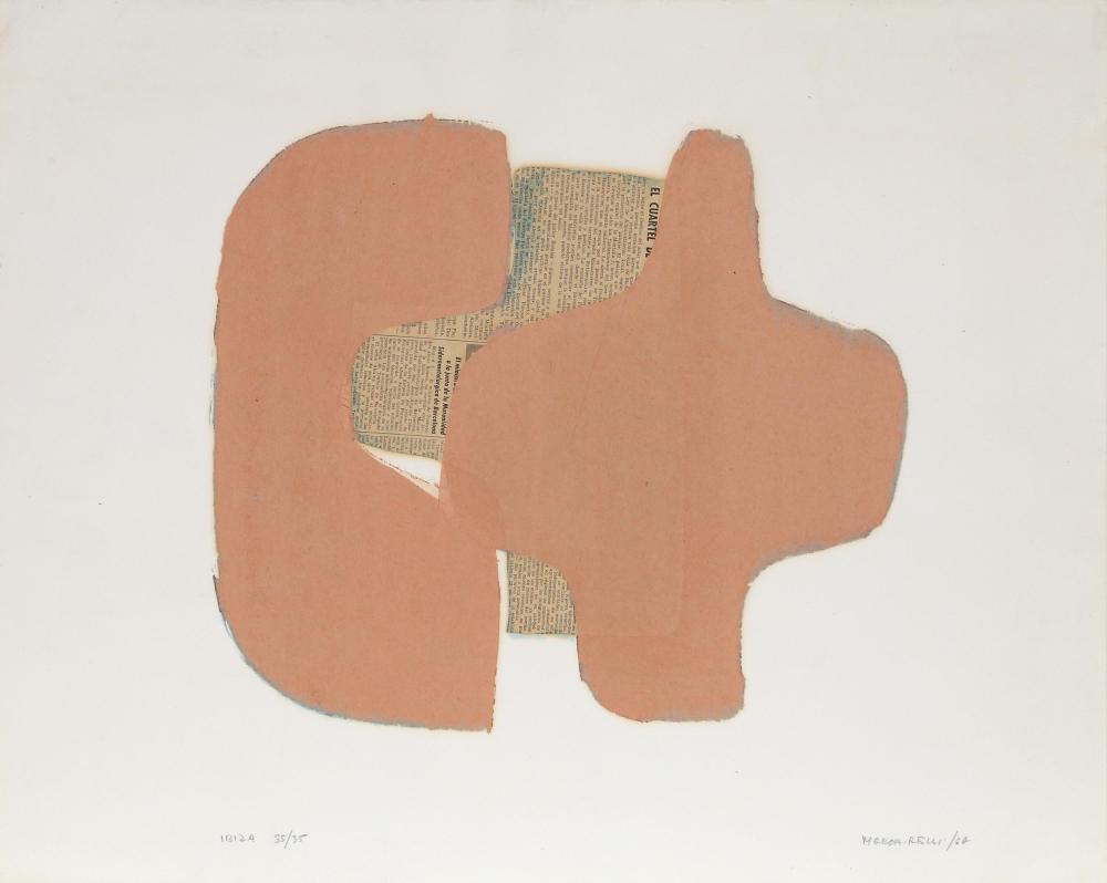 Conrad Marca-Relli, Ibiza I, Collage Multiple on Paper
