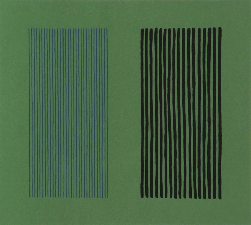 Gene Davis, Green Giant, Lithograph