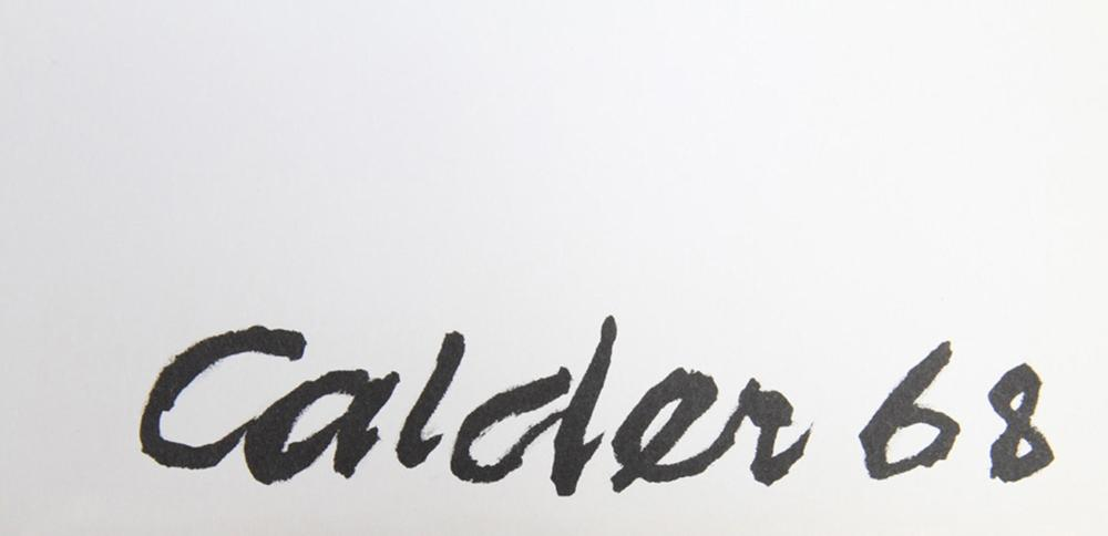 Alexander Calder, Balloons, Lithograph