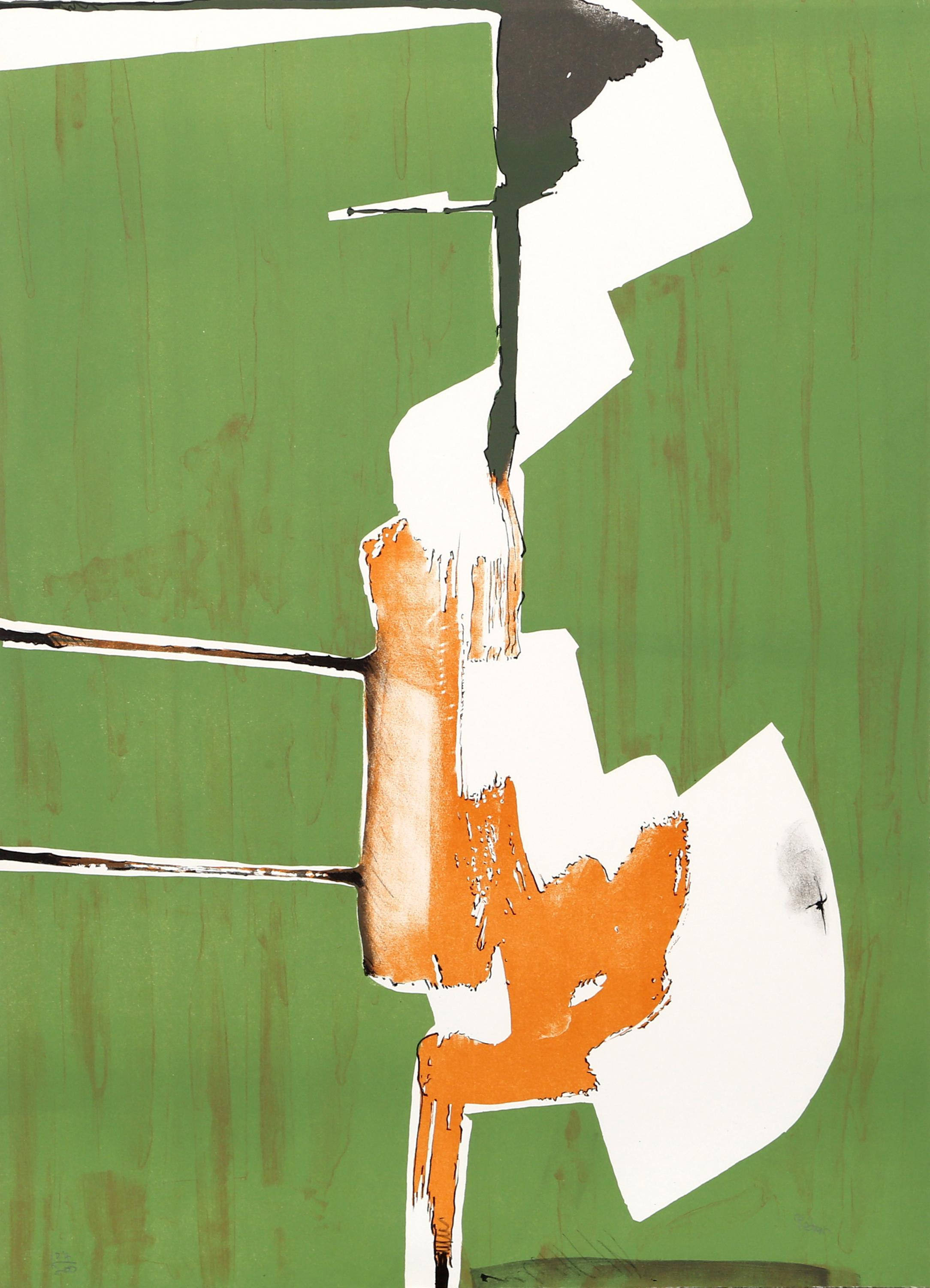 Dimitri Petrov, Abstract Handstand, Lithograph