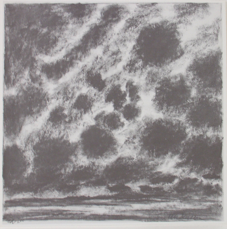 Burton van Deusen, Untitled, Offset Lithograph