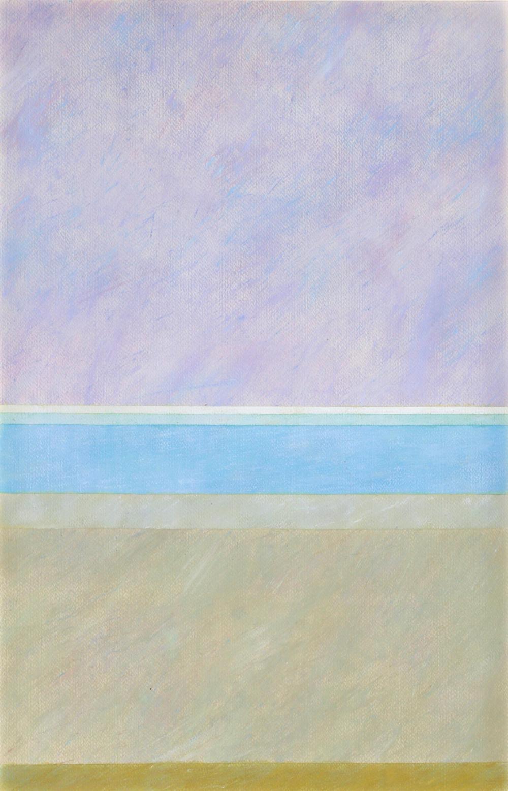 Jay Rosenblum, Untitled XVI, Abstract Stripes Lithograph
