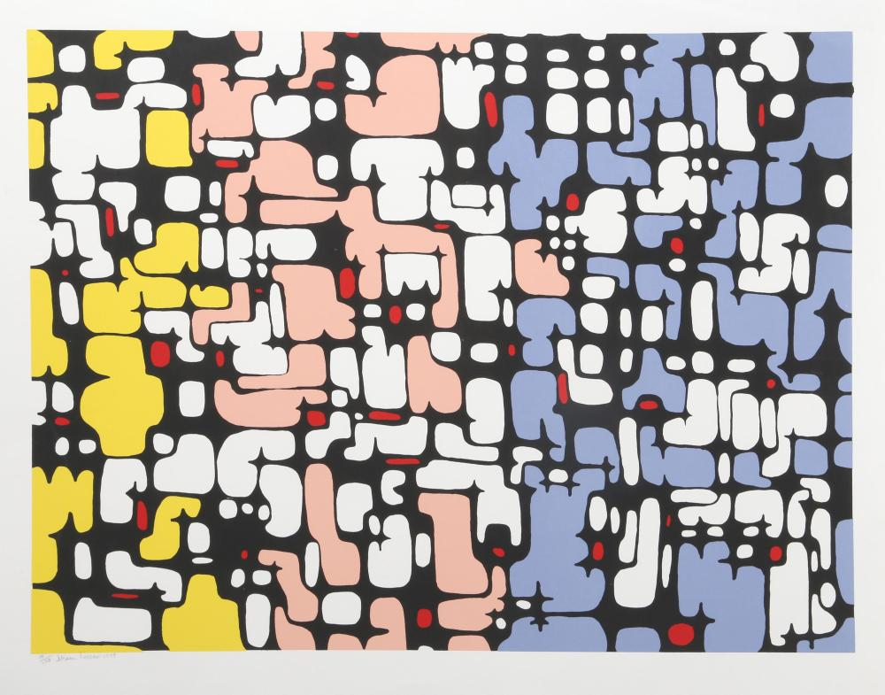 Ibram Lassaw, Continuity, Serigraph
