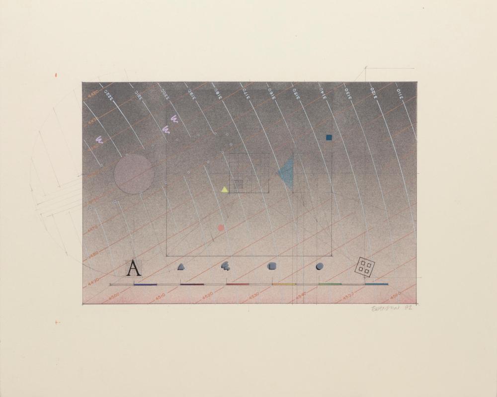 James Evanson, Untitled, Screenprint