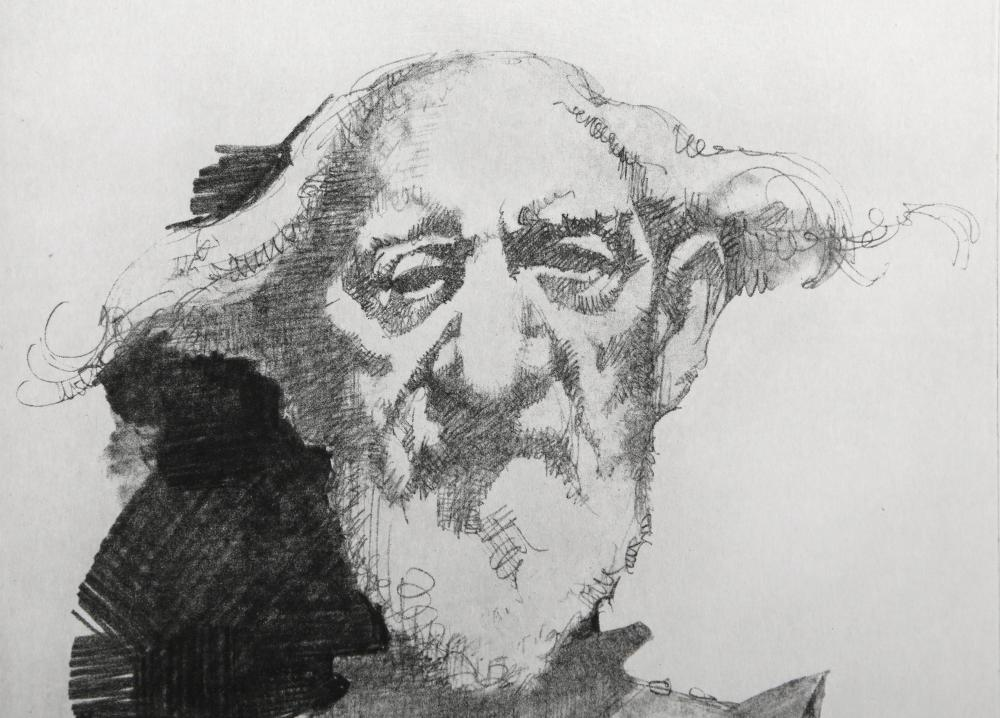 Charles Bragg, Don Quixote, Etching