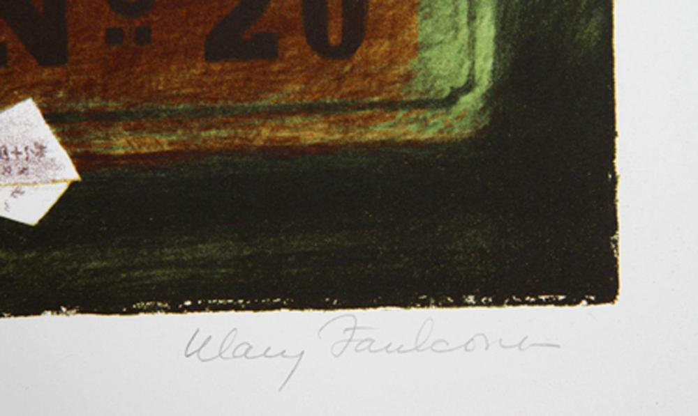 Mary Faulconer, China Import, Lithograph