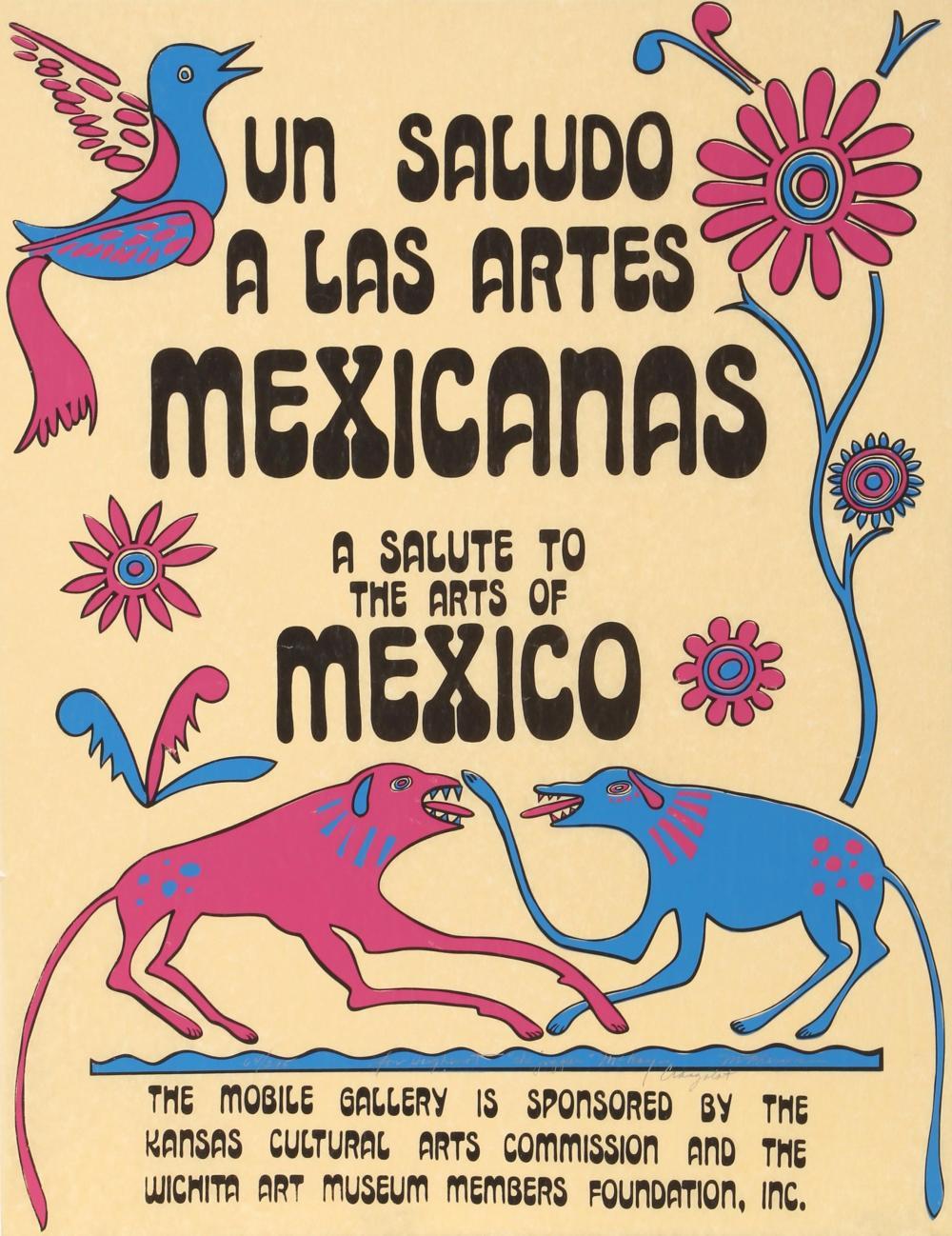 Craig McPherson, Un Saludos a las Artes Mexicanas, Screenprint