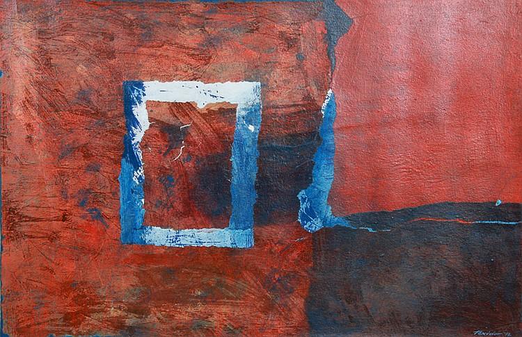 Jordi Teixidor, Number 6, Oil Painting