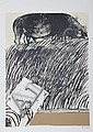 Brett Whiteley, Drawing about Drawing, Serigraph