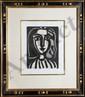 Pablo Picasso, Two Armchair Woman (Francoise Gilot), M. 153 & 154, Lithographs