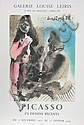 Pablo Picasso, 172 Dessins Recents: Galerie Louise Leiris, Offset Lithograph Poster