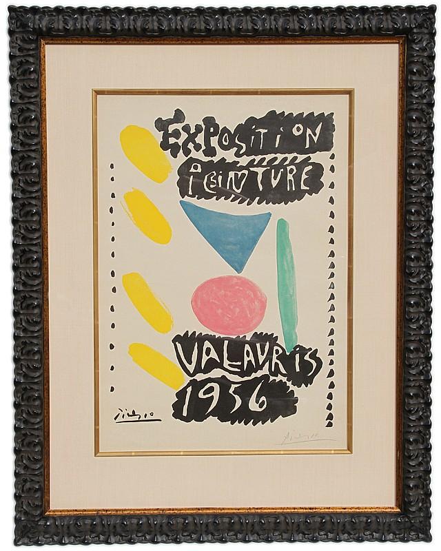 Pablo Picasso, Expostion Peinture, Vallauris 1956 (Czwiklitzer 95), Offset Lithograph