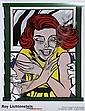 Roy Lichtenstein, Girl in the Window, Poster