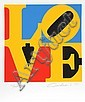 Robert Indiana, The Book of Love 6, Serigraph