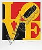 Robert Indiana, The Book of Love 9, Serigraph