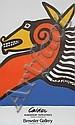 Alexander Calder, Seahorse Exhibition Lithograph Poster