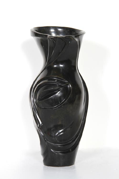 Russian Eye Vase, Bronze Sculpture