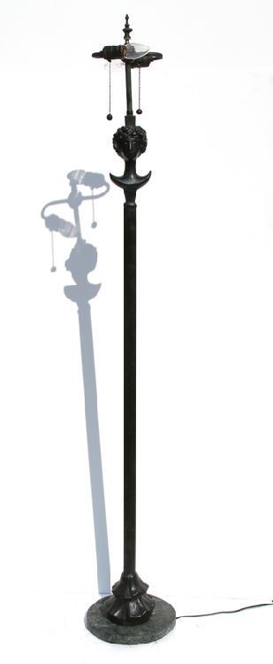 Alberto Giacometti, Tall Lamp, Bronze Sculpture