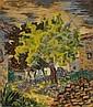 Laurent Marcel Salinas, L'Arbe, Oil Painting