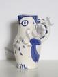 Pablo Picasso, Owl, Turned Ceramic Pitcher