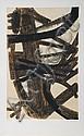 Pierre Soulages, Peinture 1947, Lithograph