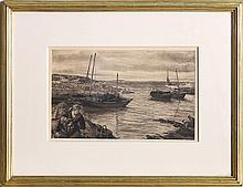 James Clarke Hook, Home with the Tide, Lithograph