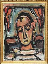 Georges Rouault, Pierrot from Verve Vol. II Magazine No. 5/6, Lithograph