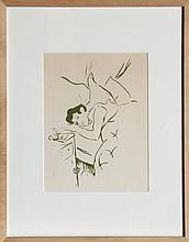 Henri de Toulouse-Lautrec, Ta Bouche / Your Mouth. Plate 5 of Vieilles Histoires, Lithograph