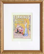 Tamagno, Terminus, Offset Lithograph