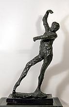 Edgar Degas, Spanish Dancer, Cast Resin Sculpture