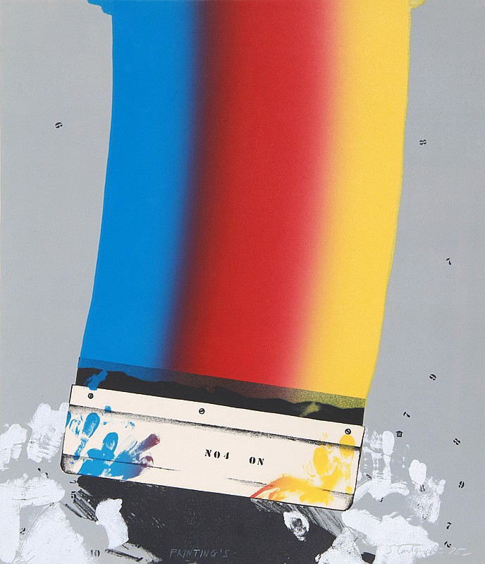 Shigeru Taniguchi, Paintings, Silkscreen