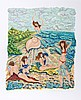 Rochelle Steiner, Painting with Sand, Lithograph, Rochelle Steiner, Click for value