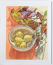 Janet Fish, Still Life with Pears, Lithograph