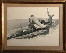 Andrew Wyeth, Study, Offset Lithograph