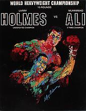 LeRoy Neiman, Holmes - Ali, Poster