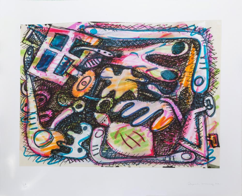 Elizabeth Murray, Untitled, Digital Print