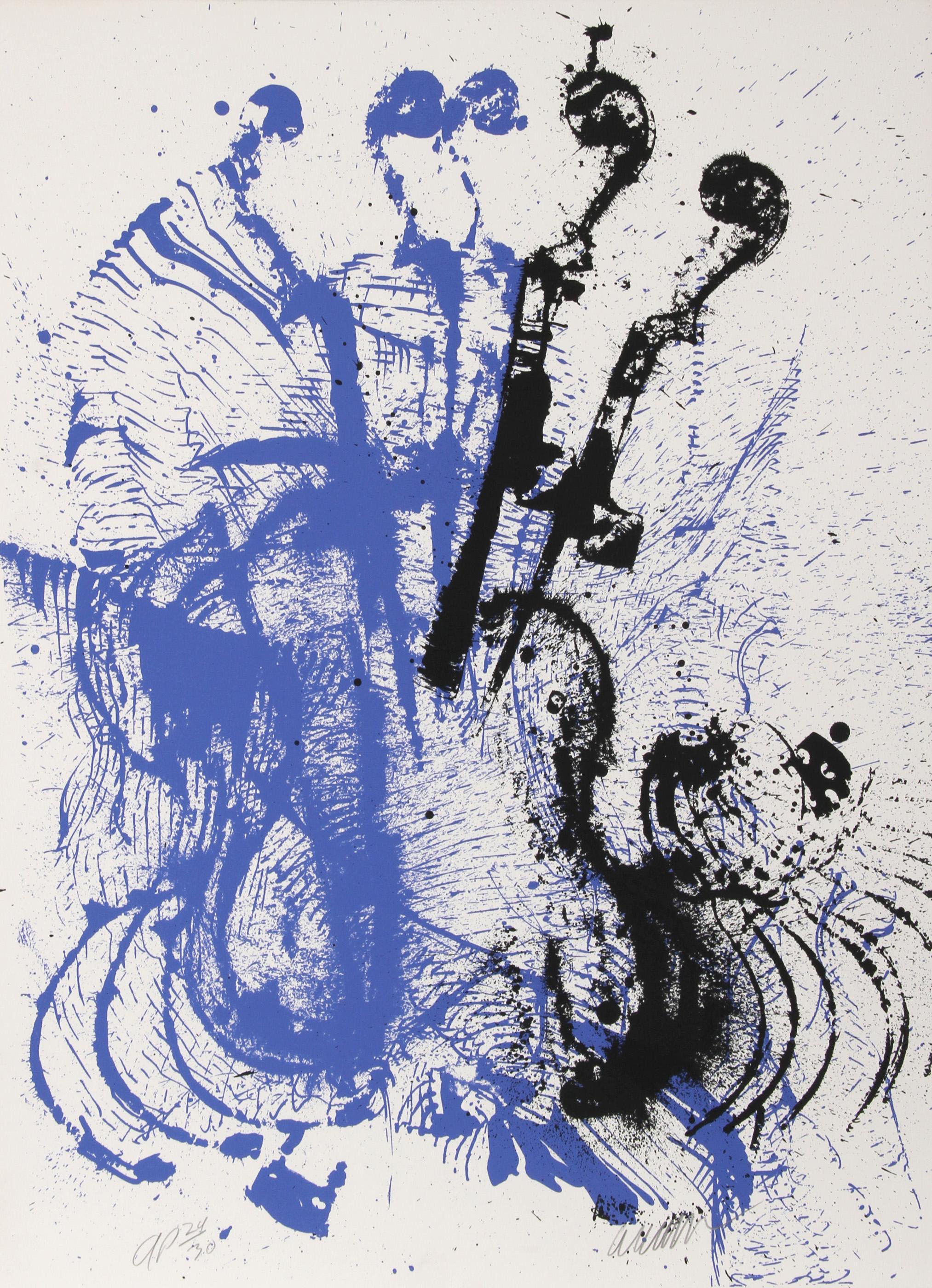 Arman, Electric Concerto, Silkscreen