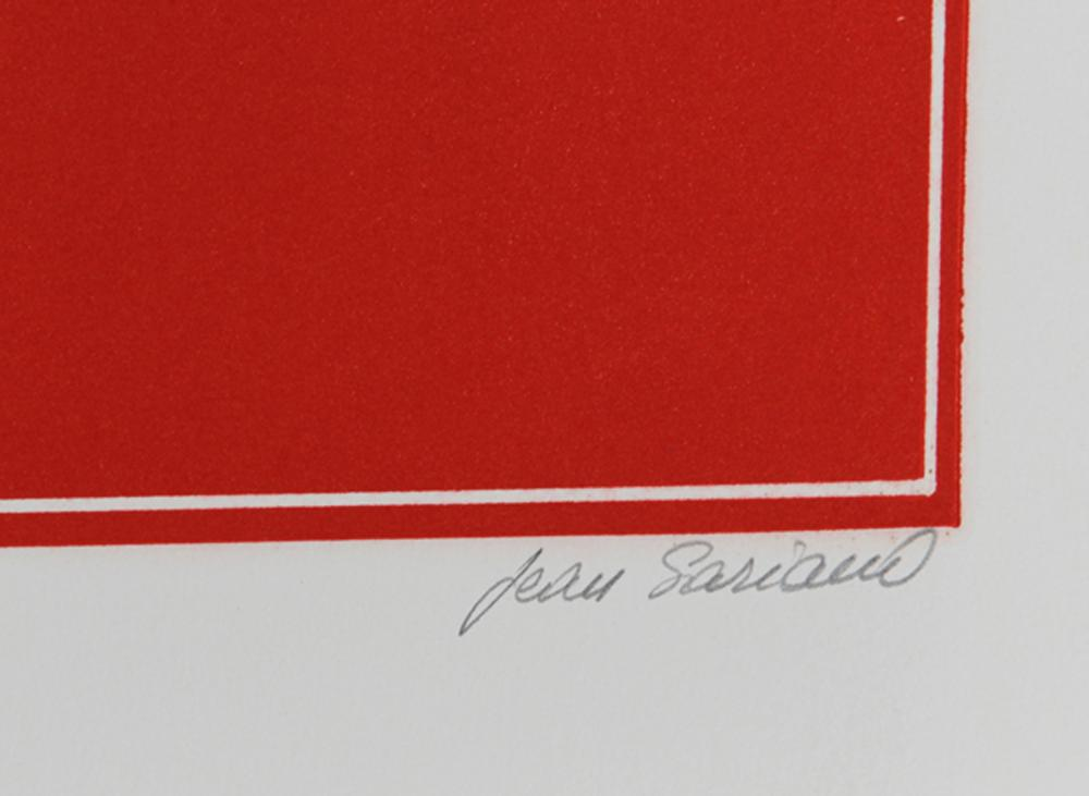 Jean Sariano, Working Proof, Intaglio Aquatint Etching