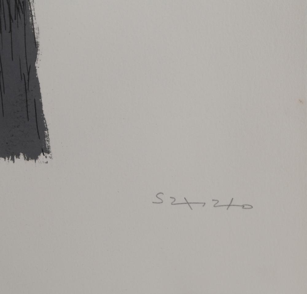Fernando de Szyszlo, Sin Titulo, Lithograph