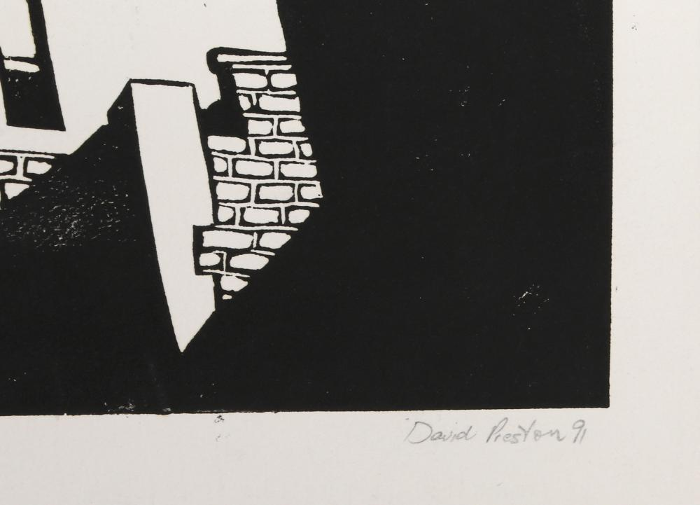 David Preston, Something American, Woodcut