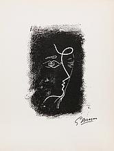 Georges Braque, Profil de Femme, Lithograph