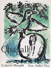 Marc Chagall, Galerie Maeght, Lithograph Poster