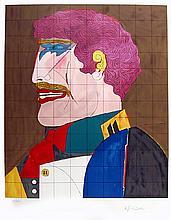 Richard Lindner, Profile, Lithograph