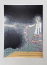 Erte, Melisande from the At the Theater Suite, Serigraph