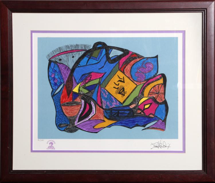 Jimi Hendrix, Genesis, Lithograph
